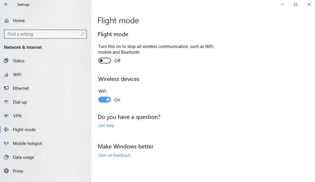 Managing Flight Mode and Travel Data - windows.do